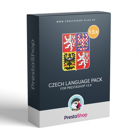 Czech language for PrestaShop 1.5.x
