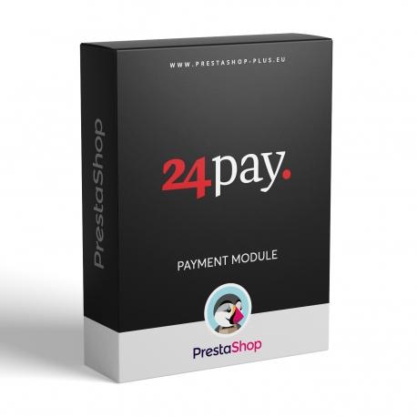 24pay for PrestaShop 1.6.x (payment gateway)