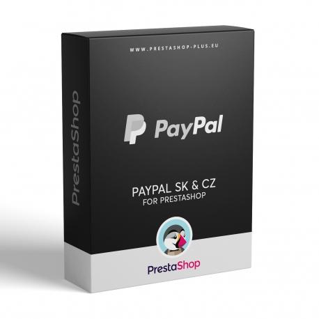 PayPal Sk & Cz pro PrestaShop