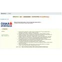 Administrácia platobného modulu PLATBA 24 (Česká Sporiteľňa)