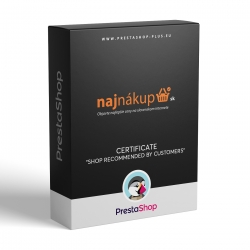 NajNakup - Shop recommended by customers (PrestaShop 1.3.x - 1.6.x module)