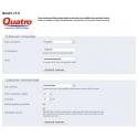 Administrace modulu Quatro pro PrestaShop