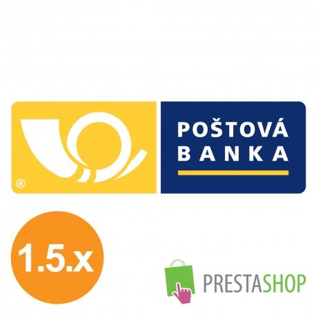 Platba ONLINE pre PrestaShop 1.5.x (Platobný modul)