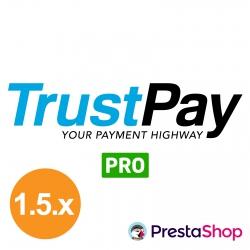 TrustPay PRO for PrestaShop 1.5.x (Payment gateway)