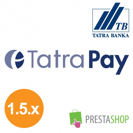 TatraPay pro PrestaShop 1.5.x (Platební modul)