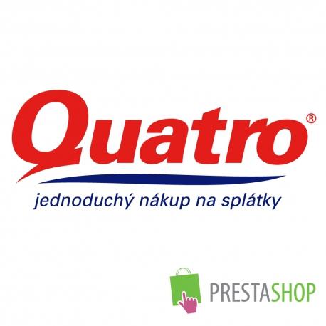 Quatro pôžick pre PrestaShop 1.2.x - 1.4.x (Platobný modul)