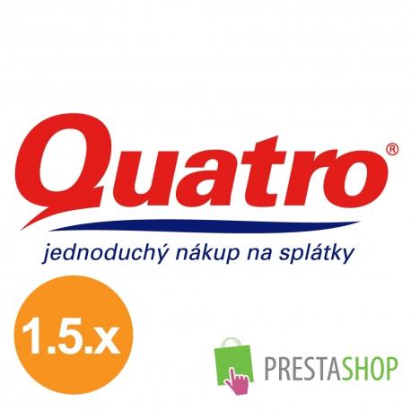 Quatro pôžicka pre PrestaShop 1.5.x (Platobný modul)