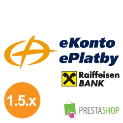 ePlatby RB for PrestaShop 1.5.x (Payment gateway)