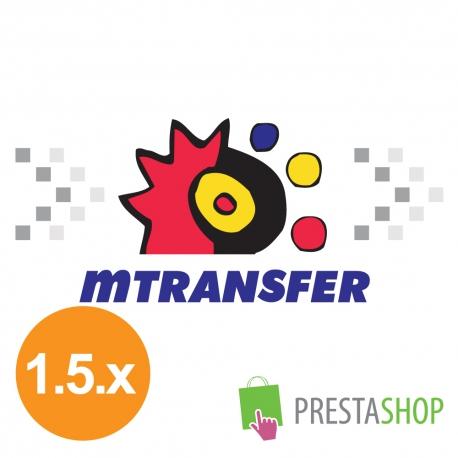 mTransfer pre PrestaShop 1.5.x (Platobný modul)