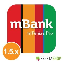 mPeníze Pro for PrestaShop 1.5.x (Payment module)