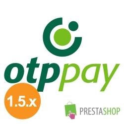 OTPpay for PrestaShop 1.5.x (Payment gateway)