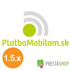 PlatbaMobilom.sk for PrestaShop 1.5.x (Payment module)