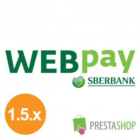 WEBpay pro PrestaShop 1.5.x (Platební modul)