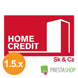 Home Credit loan for PrestaShop 1.5.x (Payment gateway)