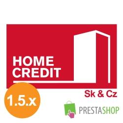 Home Credit půjčka pro PrestaShop 1.5.x (Platební modul)