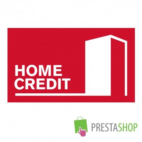 Home Credit půjčky pro PrestaShop 1.2.x - 1.4.x (Platební modul)