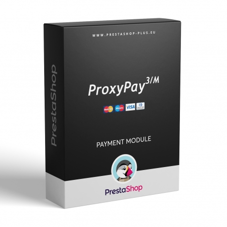ProxyPay pro PrestaShop (modul pro platby kartou)