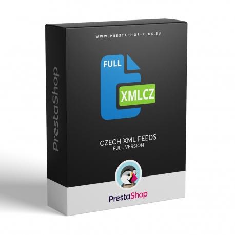 PrestaShop XML feeds for Czech price comparers (module)