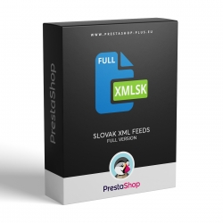 PrestaShop XML feeds for Slovak price comparers (module)
