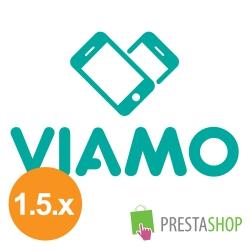 VIAMO platby pro PrestaShop 1.5.x (Platební modul)