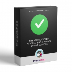 Google / Bing Webmaster Tools verification for PrestaShop