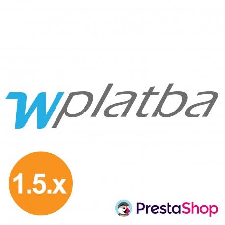wPlatba for PrestaShop 1.6.x (payment gateway)