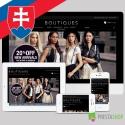 Slovenčina pro PrestaShop šablonu Boutiques