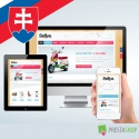 Slovak language for Sellya PrestaShop theme