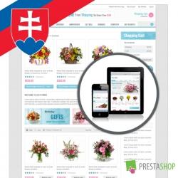 Slovenčina pre PrestaShop šablónu Leo Flowers