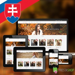 Slovak language for Autumn PrestaShop theme
