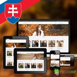 Slovenčina pro PrestaShop šablonu Autumn