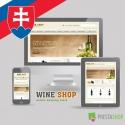 Slovenčina pro PrestaShop šablonu Wine Shop