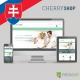 Slovak language for Cherry Shop PrestaShop theme