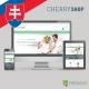 Slovak language for Cherry Shop PrestaShop theme
