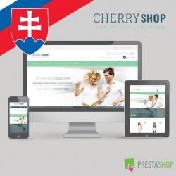 Slovenčina pre PrestaShop šablónu Cherry Shop