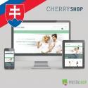 Slovenčina pro PrestaShop šablonu Cherry Shop