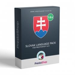 Slovenčina pro PrestaShop 1.6.x