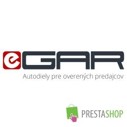 PrestaShop XML výstupy pre portál eGar.eu