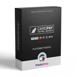 CardPay pre PrestaShop 1.6.x (Platobný modul)