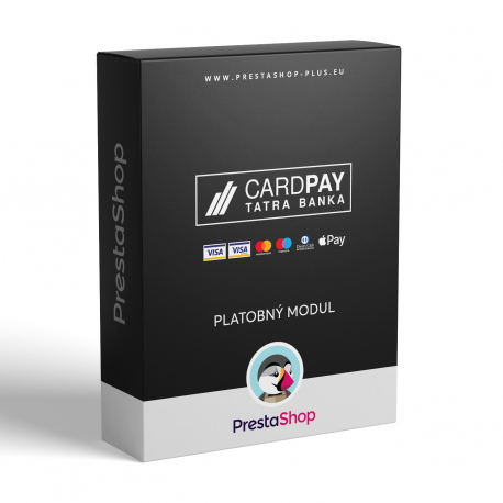 CardPay pre PrestaShop (Platobný modul)