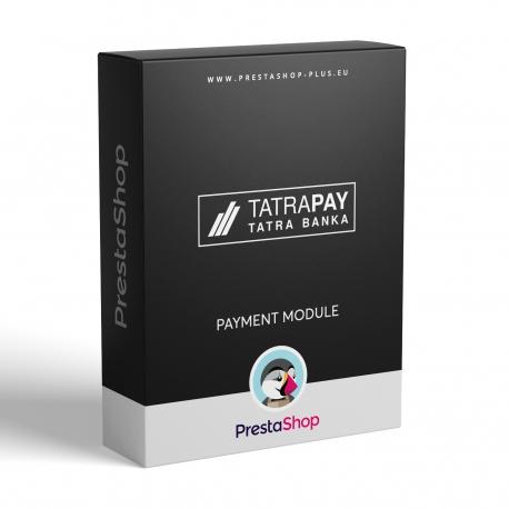 TatraPay pre PrestaShop 1.6.x (Platobný modul)