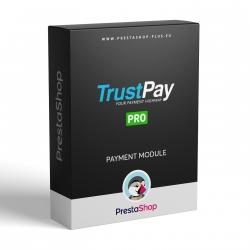 TrustPay PRO pre PrestaShop (platobný modul)