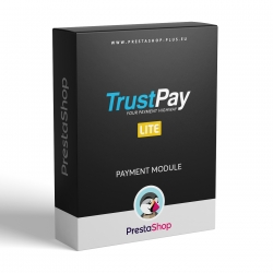 TrustPay LITE pre PrestaShop (platobný modul)