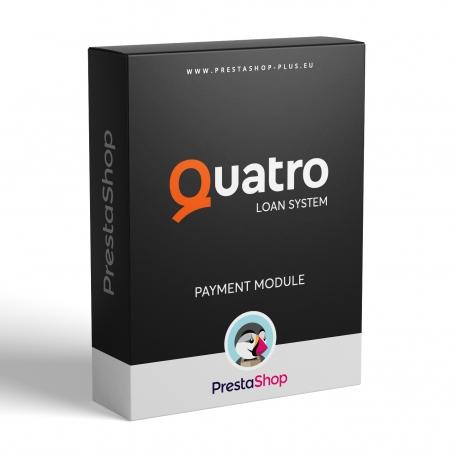 Quatro pôžička pre PrestaShop (platobný modul)