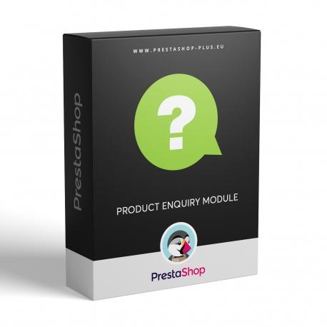 Product enquiry (PrestaShop 1.6.x module)