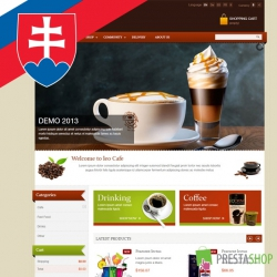 Slovak language for Leo Drinks PrestaShop theme