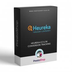 Heureka - Conversion Tracking (PrestaShop 1.5.x - 1.7.x module)