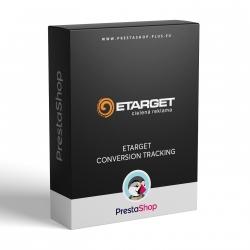 eTarget - meranie konverzií pre PrestaShop (Modul)
