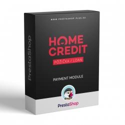 Home Credit pôžička pre PrestaShop (platobný modul)