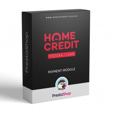 Home Credit půjčka pro PrestaShop (platební modul)